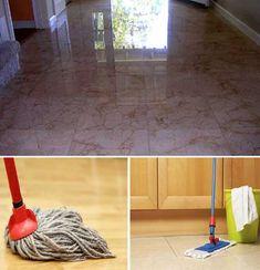 Cómo limpiar y cuidar los suelos de mármol. Good Housekeeping, Cleaning Hacks, Homemade, Ideas, Home Decor, Cleaning Marble, Timber Flooring, Kitchen Wood, Household Tips
