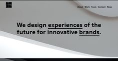 Concept-driven design work recognized globally for inspiring audiences with the harmony of digital technology and physical space.