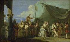 "Giovanni Domenico Tiepolo (1727-1804), ""Karnevalsscene. Pulcinellas Triumf"", 1753-54.  Statens Museum for Kunst / National Gallery of Denmark. http://www.smk.dk/index.php?id=1162"