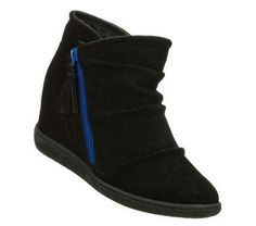 SKECHERS Womens Black Skch Plus 3 High And Mighty Ankle Boots