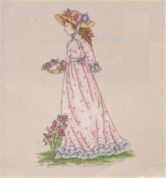 DMC - Ultimate Cross Stitch Chart Collection - PC7 Collceting Roses (Shop Copy)