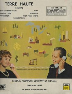Phone numbers were changed to 7 digits in 1967.