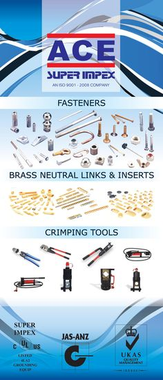 #copper #brass #ul #export #ISO 9001-2008 #manufacturing #fastners #brassneutral #links&inserts #Crimpingtools #metal #insulation #conductor