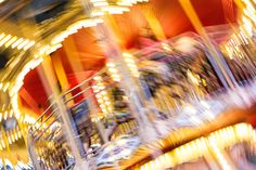 Crazy Blurred Carousel at Night Free Stock Photo Picture Sharing, Fun Fair, Abstract Photos, The Real World, Blur, Free Stock Photos, Carousel, Free Images, Beautiful Pictures
