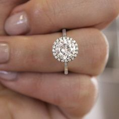 177 Best Brilliant Earth Halo Ring Collection Images On Pinterest