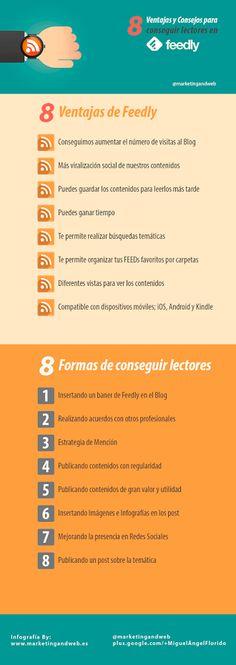 8 ventajas de Feedly
