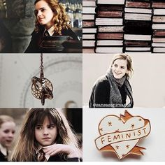 Hermione! Love her and Emma Watson so much!! Both strong powerful women!