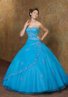 alternativas de Vestidos de 15 Años Azul Turquesa