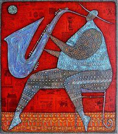 Swing ~ by Wlad Safronow, Ukranian artist, born 1965 in Kharkov, Ukraine.