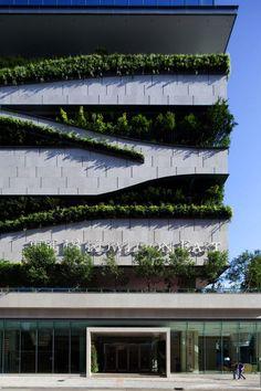 Radical Building Incorporates Green Design - My Modern Met