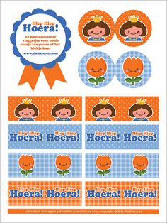 Free Queen's day printable by she.likes.cute, via Flickr