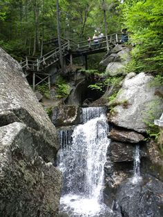 Lost River Gorge & Boulder Caves 1712 Lost River Road, Route 112W North Woodstock, New Hampshire 03262 (603) 745-8031  Photo: Paradise Falls