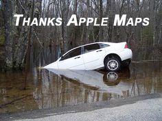 thanks apple maps archiemiscdotcom Phone Jokes, Apple Maps, Tech Humor, Funny Cartoons, I Laughed, Thankful, Lol, Memes, Wicked