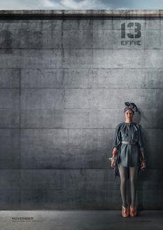 Die Tribute von Panem - Mockingjay Teil 1 Effie Charakterposter