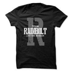 Awesome Tee Rainbolt team lifetime member ST44 T shirts