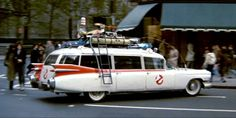 Classic Ghostbusters Car Tweeted by Paul Feig