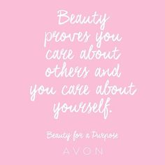 AVON | Beauty for a Purpose |