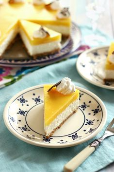 Juditka konyhája: ~ MANGÓS TÚRÓTORTA ~ A Food, Food And Drink, Other Recipes, Cake Cookies, Panna Cotta, Mango, Cheesecake, Ethnic Recipes, Diets