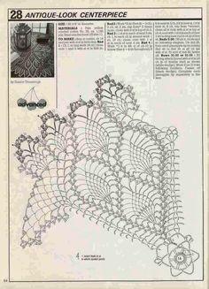 Decorative Crochet Magazine n° 02 - tristanime - Picasa Webalbumok Crochet Doily Diagram, Crochet Mandala, Crochet Chart, Thread Crochet, Filet Crochet, Crochet Motif, Crochet Doilies, Knit Crochet, Doily Patterns