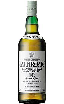 For the bar-Laphroaig 10 Year Old Single Malt Scotch Whisky