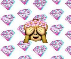 Resultado de imagen para emojis monitos con flores