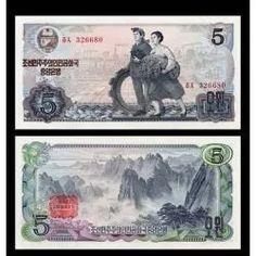 coréia norte cédula