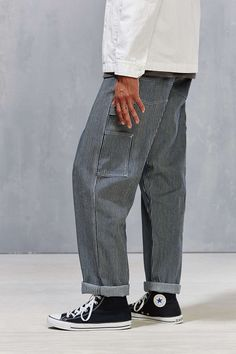 Stan Ray Hickory Stripe Carpenter Pant