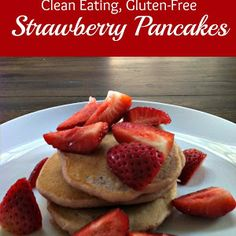 Clean Eat Recipe :: Four Ingredient Pancakes! ~ He and She Eat Clean