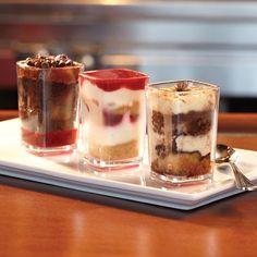 Trio Of Petite Desserts - One Market Restaurant - Zmenu, The Most Comprehensive Menu With Photos