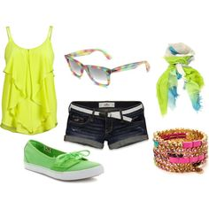 Colorful (:, created by callirobinson23 on Polyvore