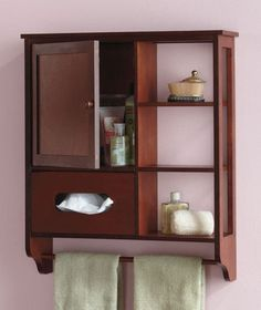 Multifunctional Wooden Bathroom Storage Cabinet Organizer Black Walnut White New | eBay