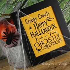 Creepy Crawly (for 8x10 frame) by Thoughts in Vinyl http://www.thoughtsinvinyl.com/creepy-crawly.html