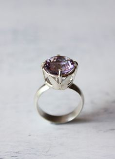 Beautiful handcrafted ring by Belinda Saville; I love the butterfly detail. Belinda's work is always such quality, too!