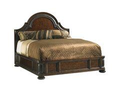 Lexington Florentino Cavallino King Platform Bed   LX010900134C