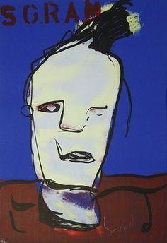 Herman Brood, Vijf Gram 70 x 100