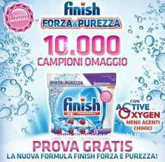 Campioni omaggio Finish Powerball - DimmiCosaCerchi.it