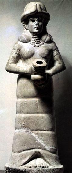 Diosa del vaso manante, Reino Babilónico 2015-1594 a.c.