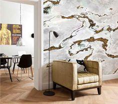 Marble wallpaper by Komar