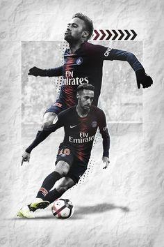 Neymar Psg, Messi And Neymar, Cristiano Ronaldo Lionel Messi, Ronaldo Juventus, Neymar Football, Nike Football, Neymar Jr Wallpapers, Soccer Art, Sports Graphic Design