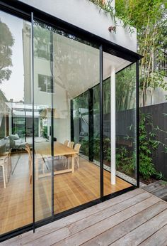 Cloud House by Robert Plumb Build & Akin Atelier - Architectural Building - The Local Project Contemporary Architecture, Interior Architecture, Sage House, Recycled Brick, Studio Build, H & M Home, Spacious Living Room, Indoor Outdoor Living, Future House