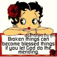 Let God do the meding quotes quote god religious quotes religious quote betty boop Black Betty Boop, Brown Betty, Betty Boop Cartoon, Betty Boop Pictures, Let God, Cartoon Characters, Blessed, Let It Be, Words