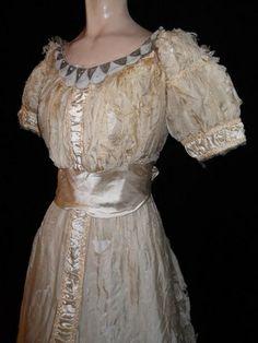 1800's Victorian Wedding Dress