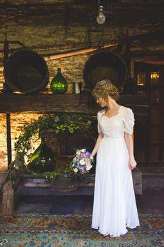 Modest wedding dress. #modest #wedding #dress #sleeves