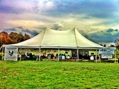 South Farms in Morris CT Co-Sponsored by Tents Unlimited & Party Time (Ames IA) Genesis tent at the Iowa State Jack Trice ...