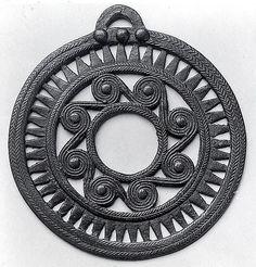Openwork pendant  ca. A.D. 1st–2nd century Transcaucasia