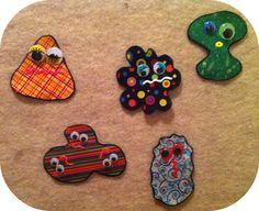 Five Little Germs Flannel Felt Board Story.