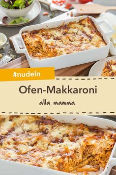 Ofen-Makkaroni alla mamma Rezept Fresh out of the oven: oven-macaroni alla mamma. A great pasta bake for the whole family! Vegetarian Crockpot Recipes, Healthy Juice Recipes, Juicer Recipes, Healthy Juices, Meat Recipes, Cake Recipes, Budget Freezer Meals, Frugal Meals, Quick Easy Meals