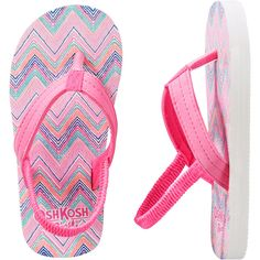 c25239e64b1d OshKosh Heart Print Flip Flops from OshKosh B gosh.