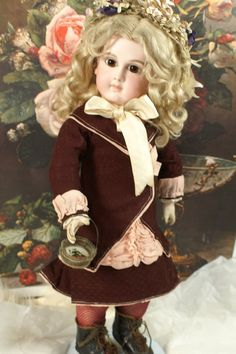 Make Offer~ Fabulous Schmitt Bebe with Huge Amber Eyes (item #1281048, detailed views)