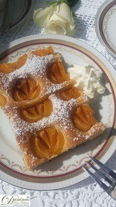 Marillenkuchen Rezept - Daninas Kunst-Werkstatt Chutneys, Waffles, Pudding, Breakfast, Desserts, Food, Chocolate Pies, Sheet Cakes, Just Bake